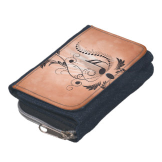 Music key notes wallet