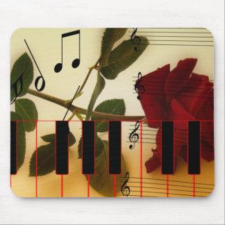 Music Keys Notes World Destiny Art Digital Mouse Pads