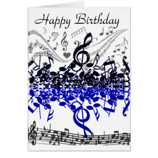Music Lives_ Greeting Card