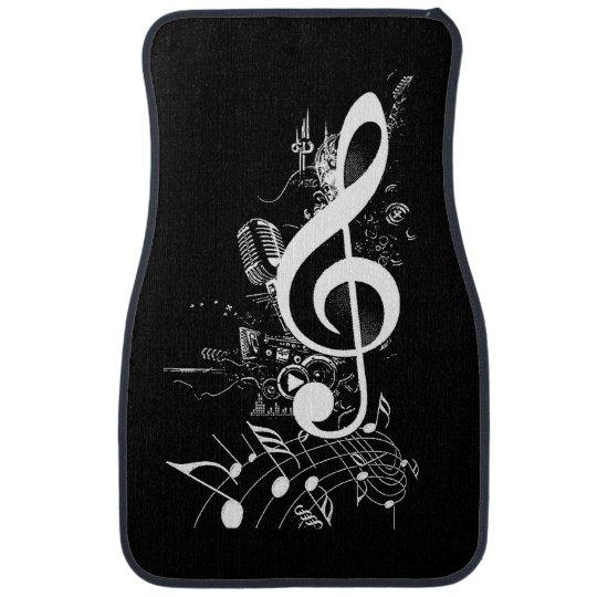 Music Lives in me_ Car Mat