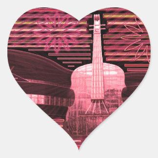 Music Love Inspiration Heart Sticker