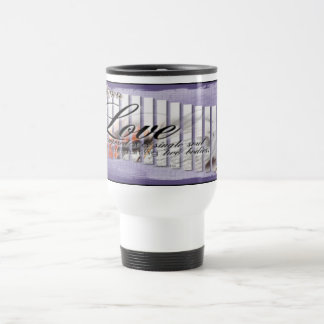 Music & Love - Travel/Commuter Mug