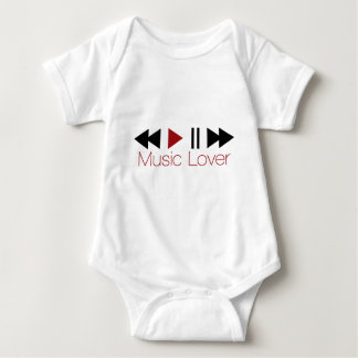 Music Lover Baby Bodysuit
