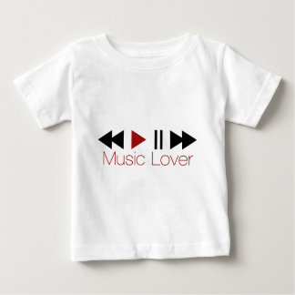 Music Lover Baby T-Shirt