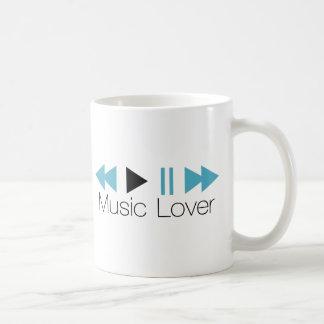 Music Lover Basic White Mug