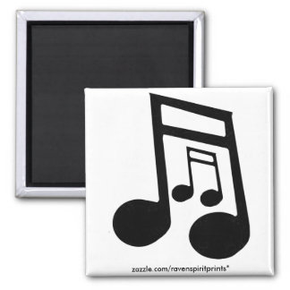 MUSIC LOVER Collection Square Magnet