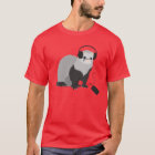 Music Lover Ferret Mens T-Shirt