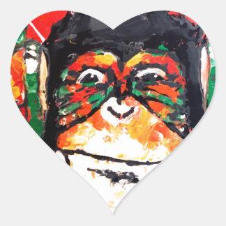 Music lover heart sticker