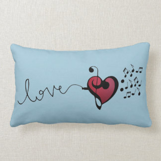 Music Lover Lumbar Cushion