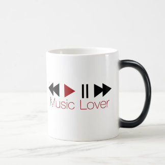 Music Lover Morphing Mug
