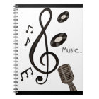 Music Lover Notebook
