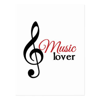 Music Lover Postcards