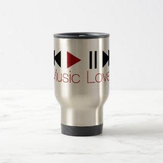Music Lover Stainless Steel Travel Mug