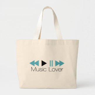 Music Lover Tote Bags