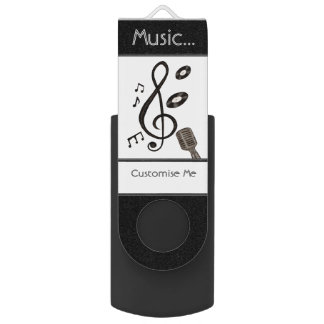Music Lover USB Flash Drive