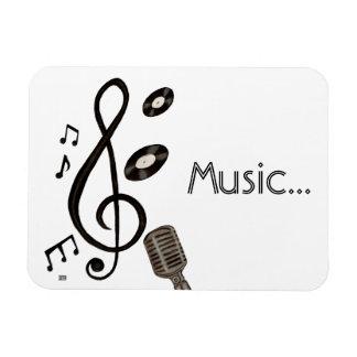 Music Lover Vinyl Magnet