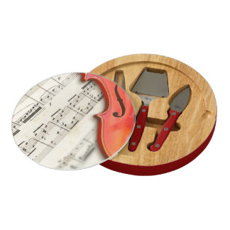 Music Lover's Cheese Board by RoseWrites
