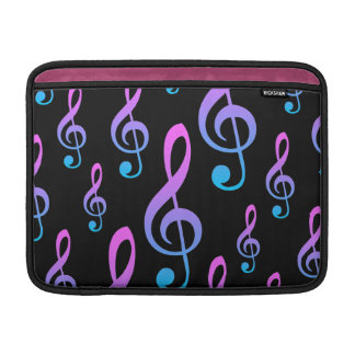 Music Lover's Treble Clef Musical Symbol Sleeve For MacBook Air