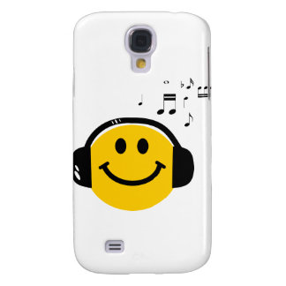Music loving smiley galaxy s4 case