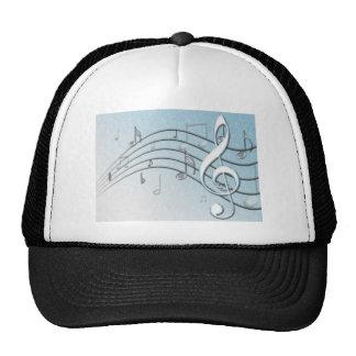 Music Lyrics Trucker Hat
