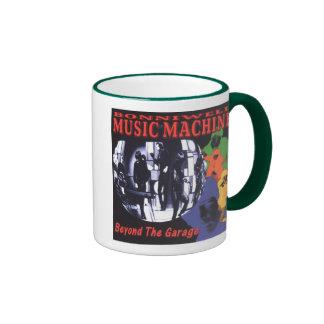Music Machine: Beyond the Garage Ringer Coffee Mug