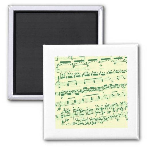 Music Major/Student/Teacher Fridge Magnet