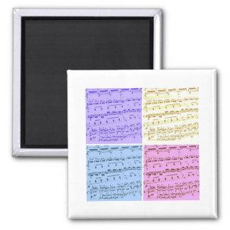 Music Major/Student/Teacher Square Magnet