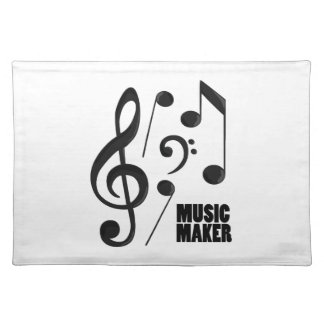 Music Maker Placemat
