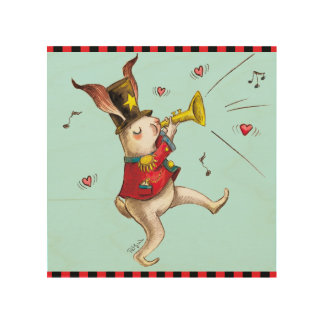 Music Maker! Rabbit Wood Canvases