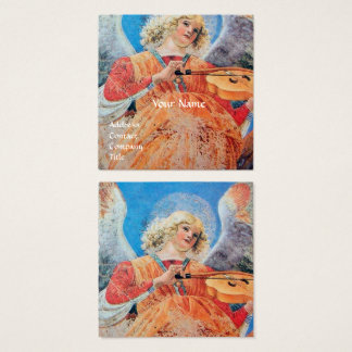 MUSIC MAKING ANGEL SQUARE BUSINESS CARD