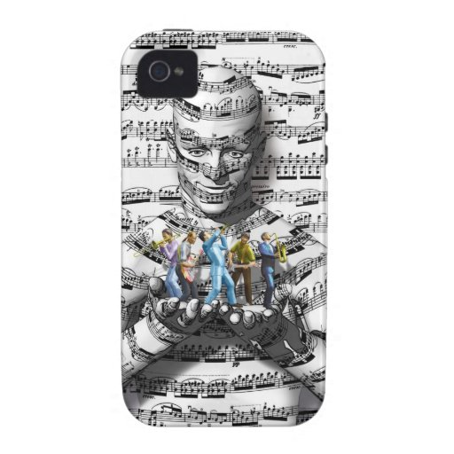 Music Man Vibe iPhone 4 Cover