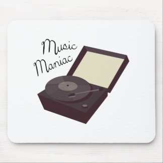 Music Maniac Mouse Pad