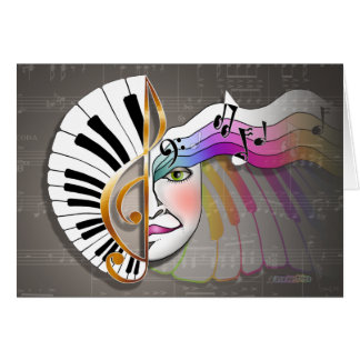 Music Mask CARDS