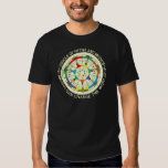 Music Modes Chart and Circle of Fifths Shirt