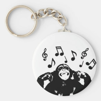 music monkeymonkey key ring