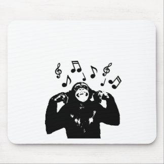 music monkeymonkey mouse pad