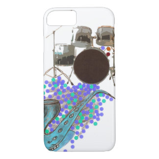 Music Montage 2 Teal Barely There iPhone 7 case
