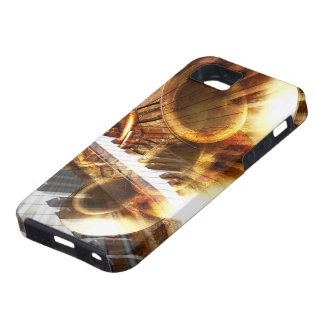 Music Montage Tough iPhone SE Case