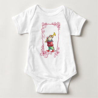 Music Mouse with Trumpet Baby Shirt