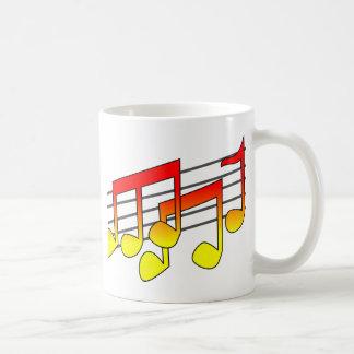 Music Basic White Mug