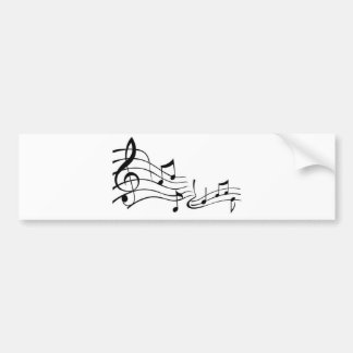 Music (Music) Bumper Sticker