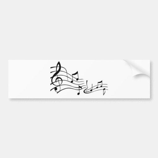 Music (Music) Bumper Stickers