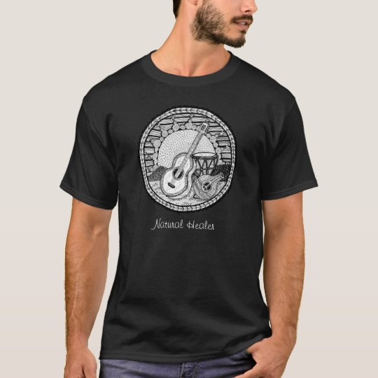 Music Natural Healer T-shirt