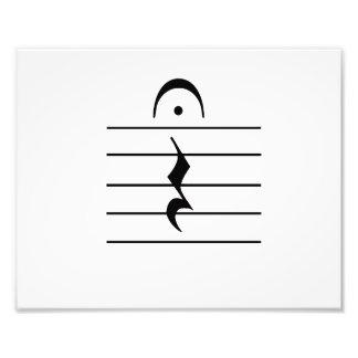 Music Notation Rest Blank Art Photo