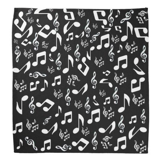 Music Note Bandanna