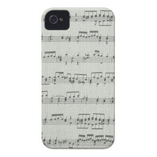 Music  Note Blackberry Bold Case