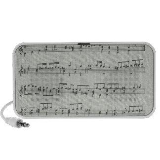 Music Note Doodle Speaker