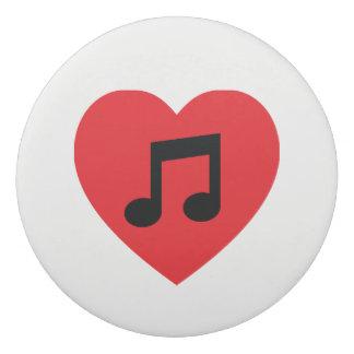 Music Note Heart Eraser