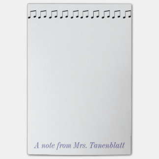 Music Note Pad Customizable