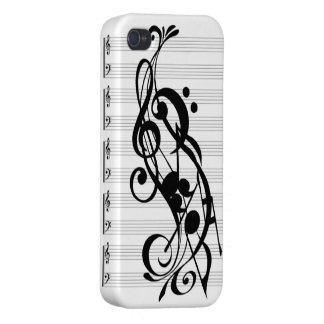 music note phone case case for the iPhone 4